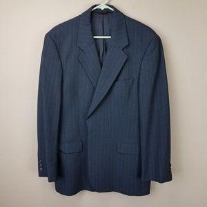 Brooks Brothers Brookease Gray Pinstripe blazer
